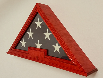 Custom Us Flag Display Cases Boxes Military Medals